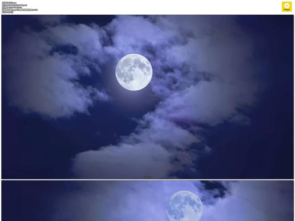圆月图片简笔画
