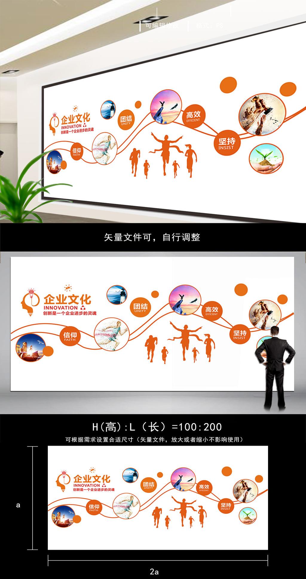 微立体企业文化墙活动室办公室形象墙图片设计素材 高清其他模板图片