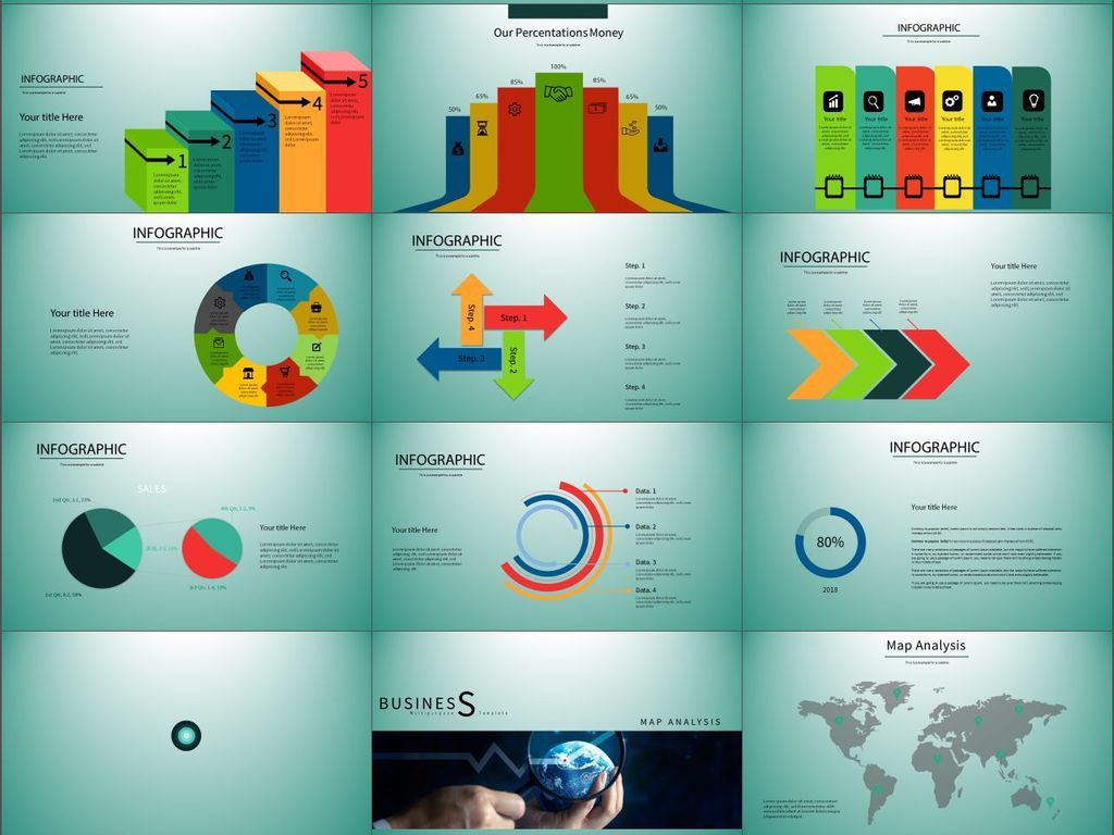 企业介绍项目进度汇报销售推广PPT模板