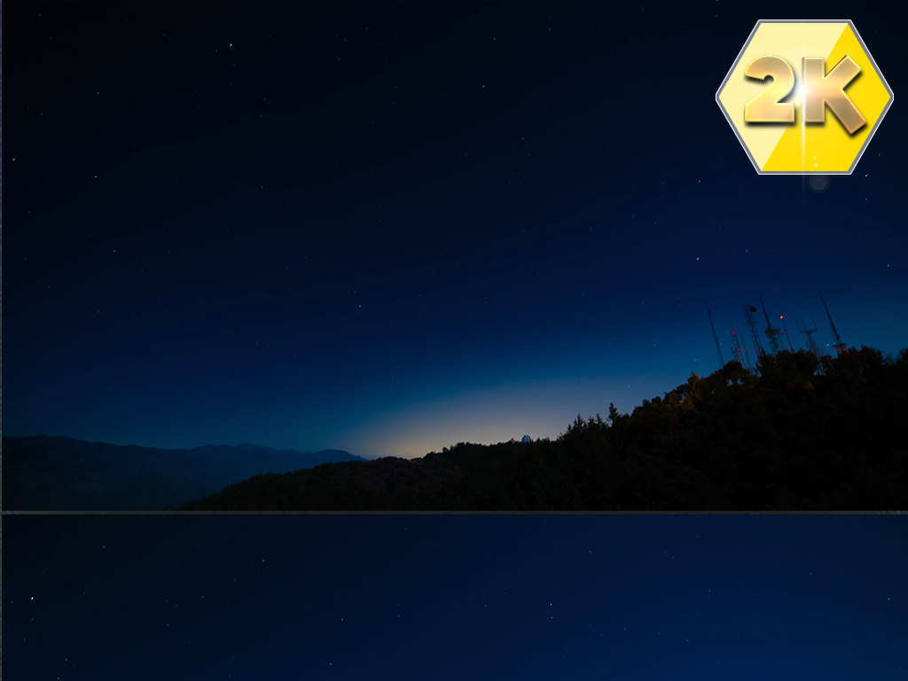 K唯美夜晚夜景星空流星雨延时摄影视频图片