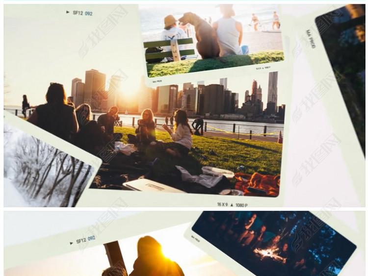 PR时尚大气图片写真集相册视频模板