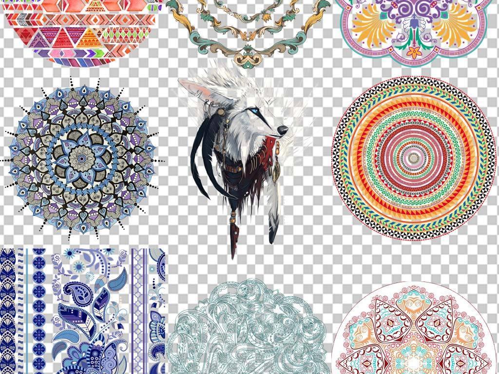 80余款华丽民族风图案民族服饰花纹图案图片素材 模板下载 103.61MB图片