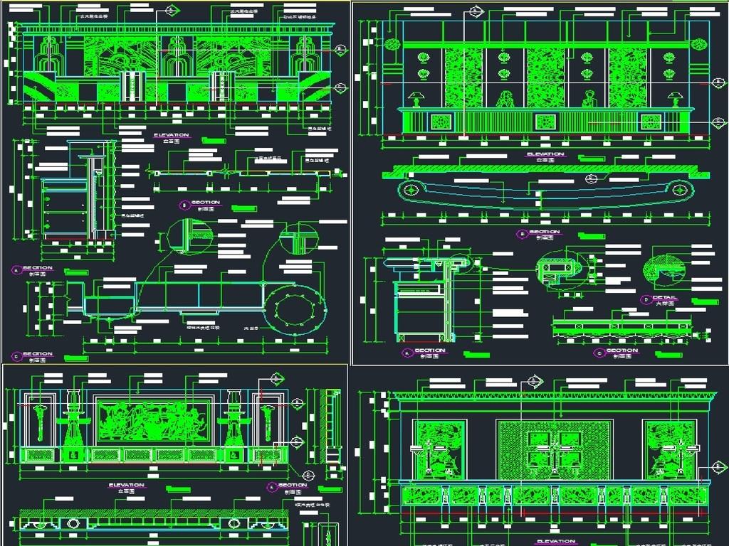 我图网提供独家原创吧台服务台设计CAD施工图正版素材下载, 此素材为原创版权图片,图片,作品体积为,是设计师yuancheng123123在2017-10-25 22:17:01上传, 素材尺寸/像素为-高清品质图片-分辨率为, 颜色模式为,所属CAD图纸分类,此原创格式素材图片已被下载1次,被收藏77次,作品模板源文件下载后可在本地用软件 AutoCAD 2004(.