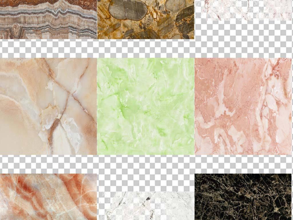 80余款新中式大理石背景纹理花纹png图片下载png素材 装饰图案