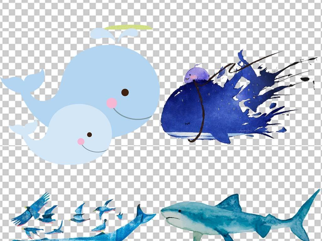 40余款保护蓝鲸手抄报海洋动物小报素材