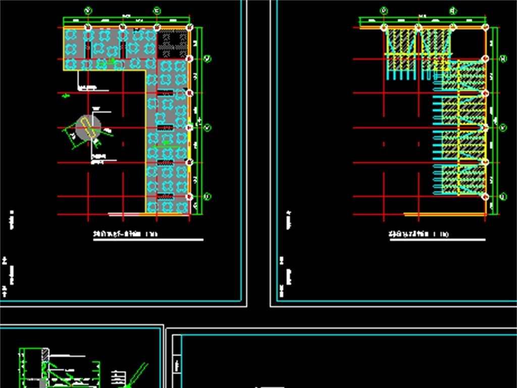 茶餐厅CAD平面图