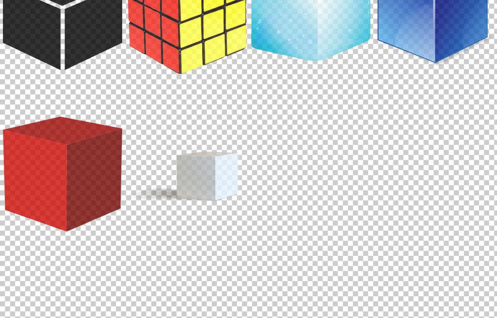 各种立方体魔方图片免抠png透明素材