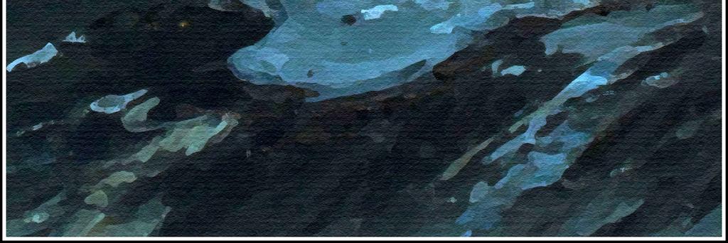 现代北欧抽象手绘油画大海天空欧式装饰画