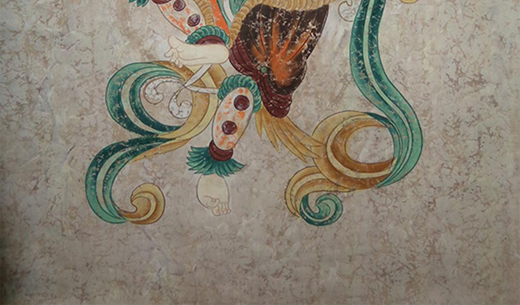 敦煌人物反弹琵琶仙女飞天壁画国画