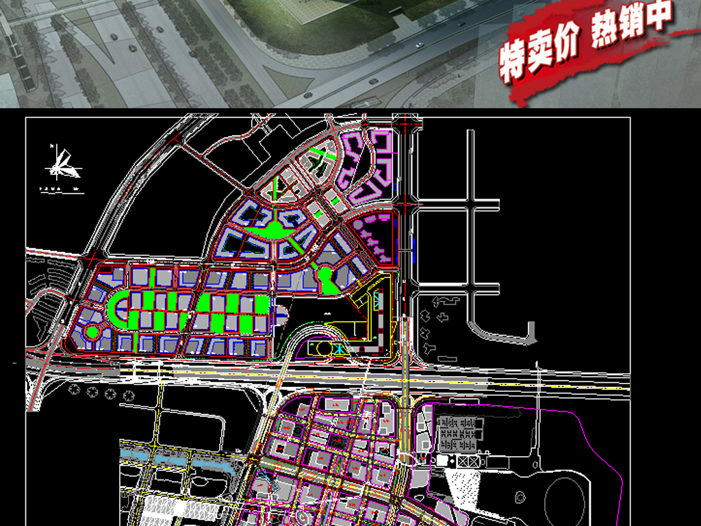 科技馆CAD全套平面规划图
