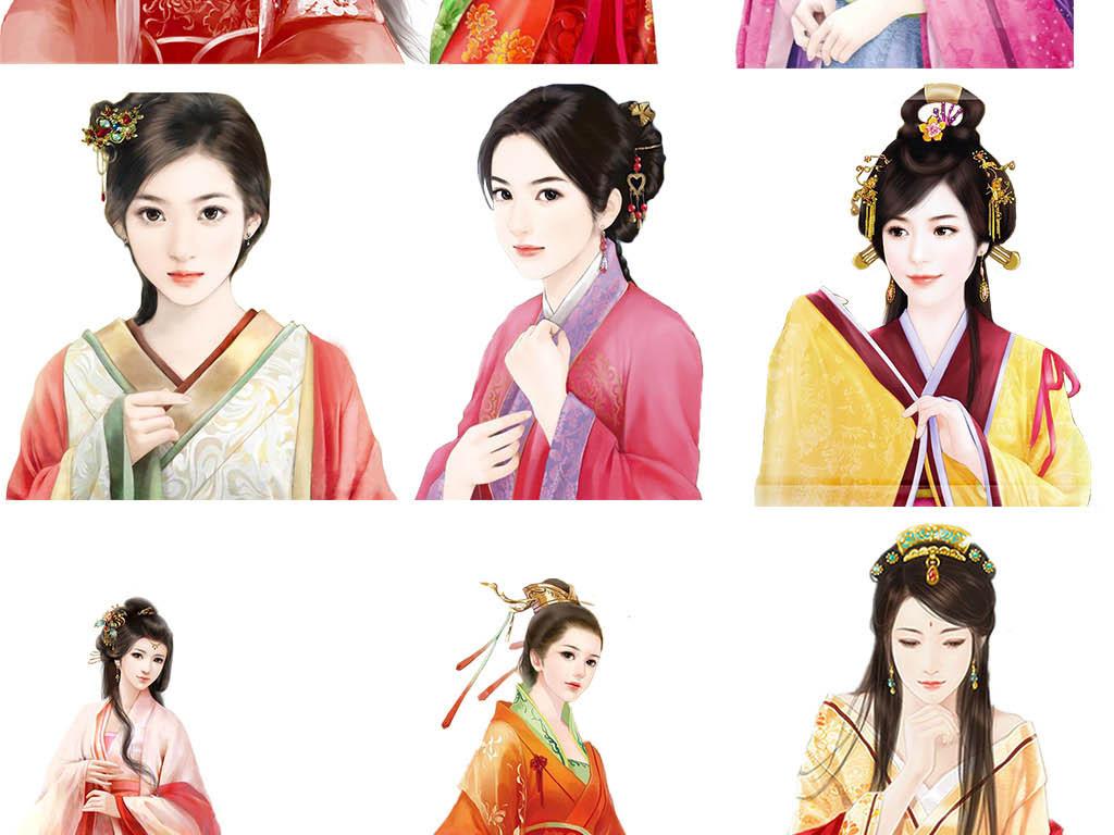 中国古典古装后宫妃嫔美女大家小姐贵族小姐