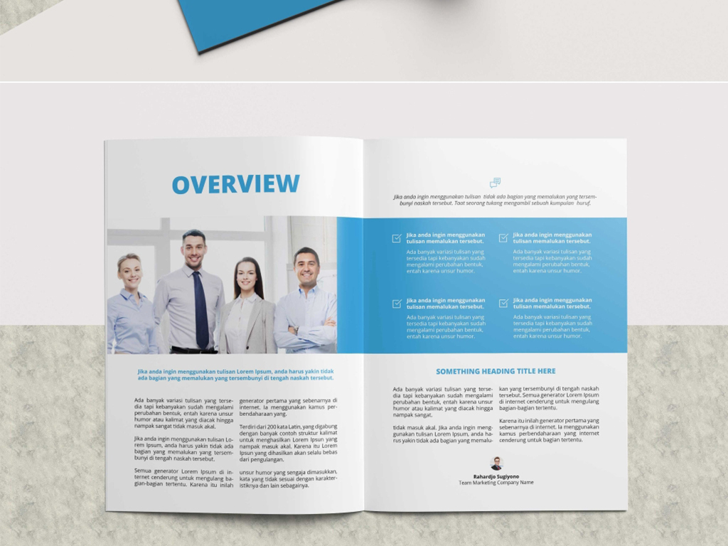 企業id宣傳冊畫冊indesign模板圖片