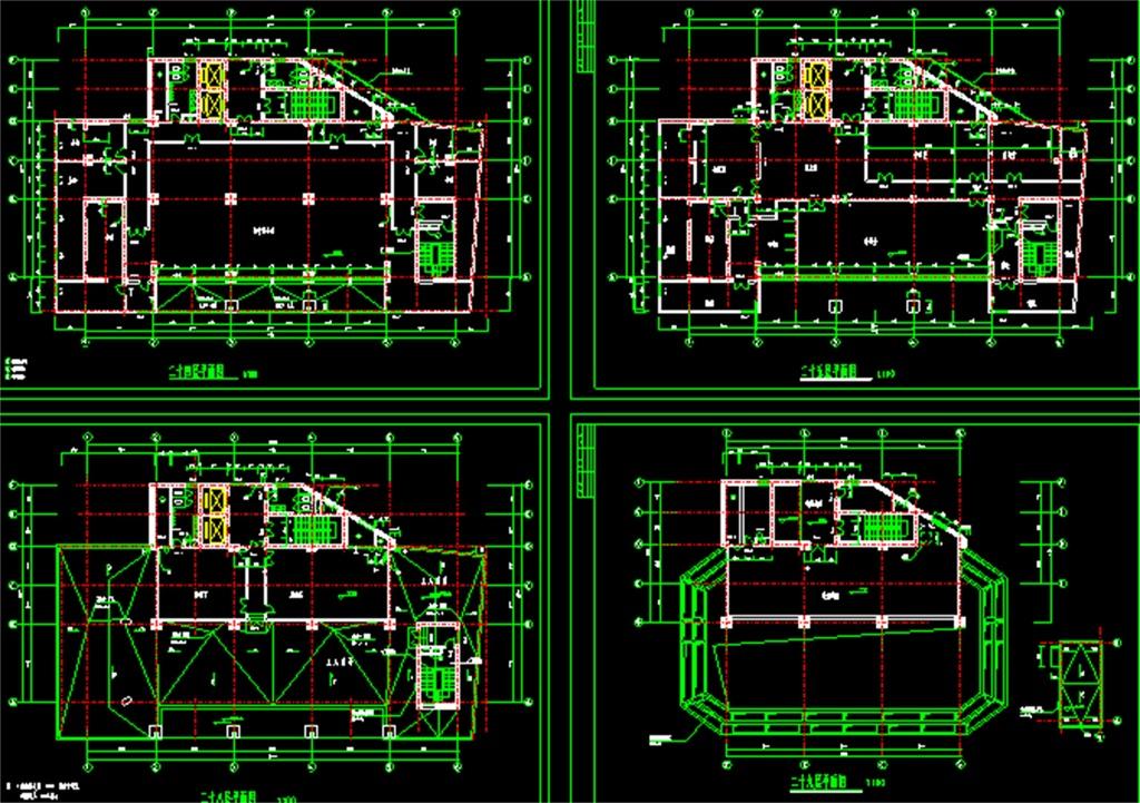 某办公楼CAD建筑设计图