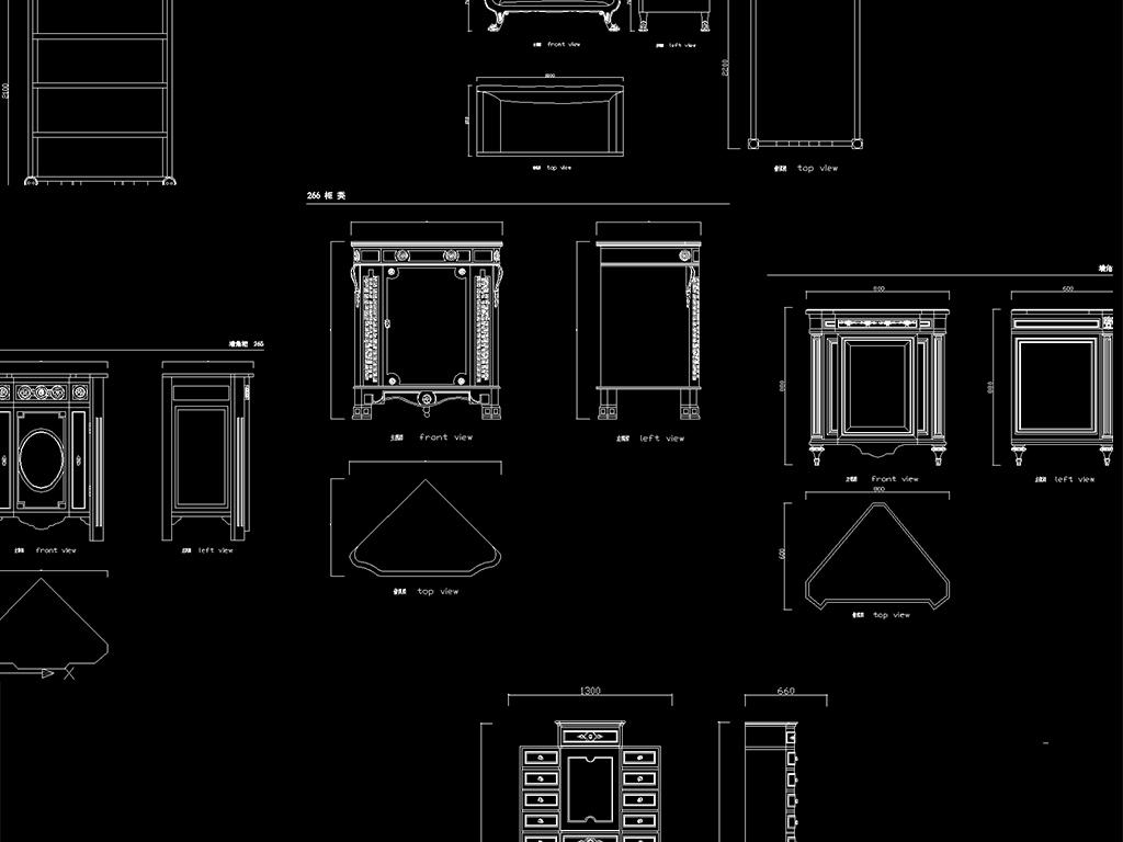 cad欧式家具平面设计图下载(图片28.69mb)_沙发图纸