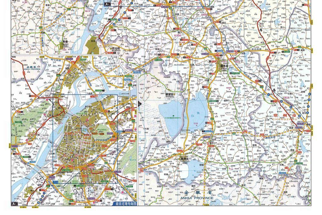 南京市交通地图高清大图