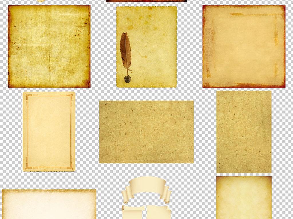 仿古怀旧牛皮纸背景素材图片