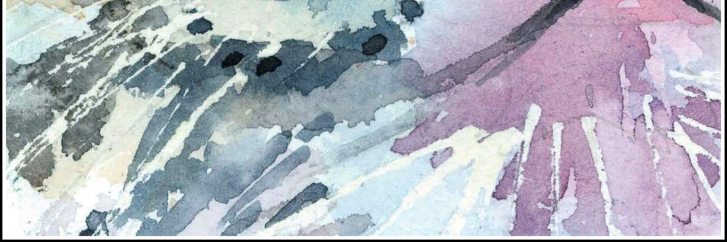 现代简约水彩手绘老虎装饰无框画