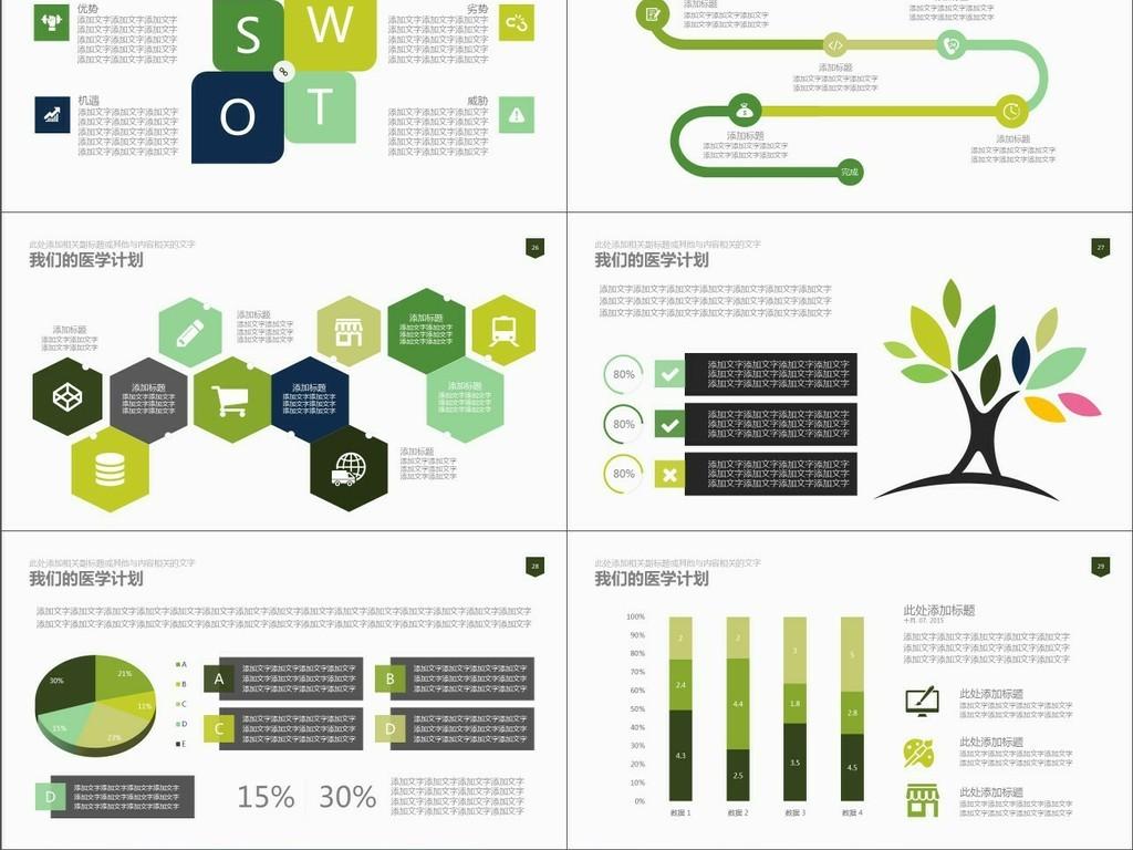 医学产品销售介绍医疗团队介绍ppt模板图片