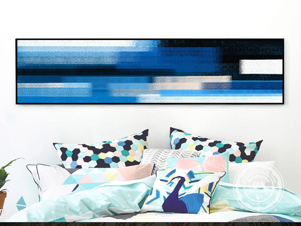 油画卧室装饰画床头画