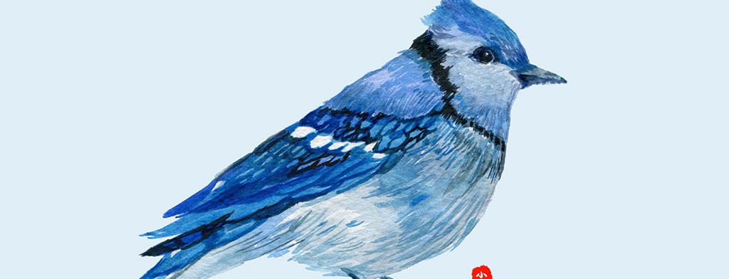 装饰画 北欧装饰画 动物装饰画 > 新中式水墨手绘花鸟画圆形玄关装饰