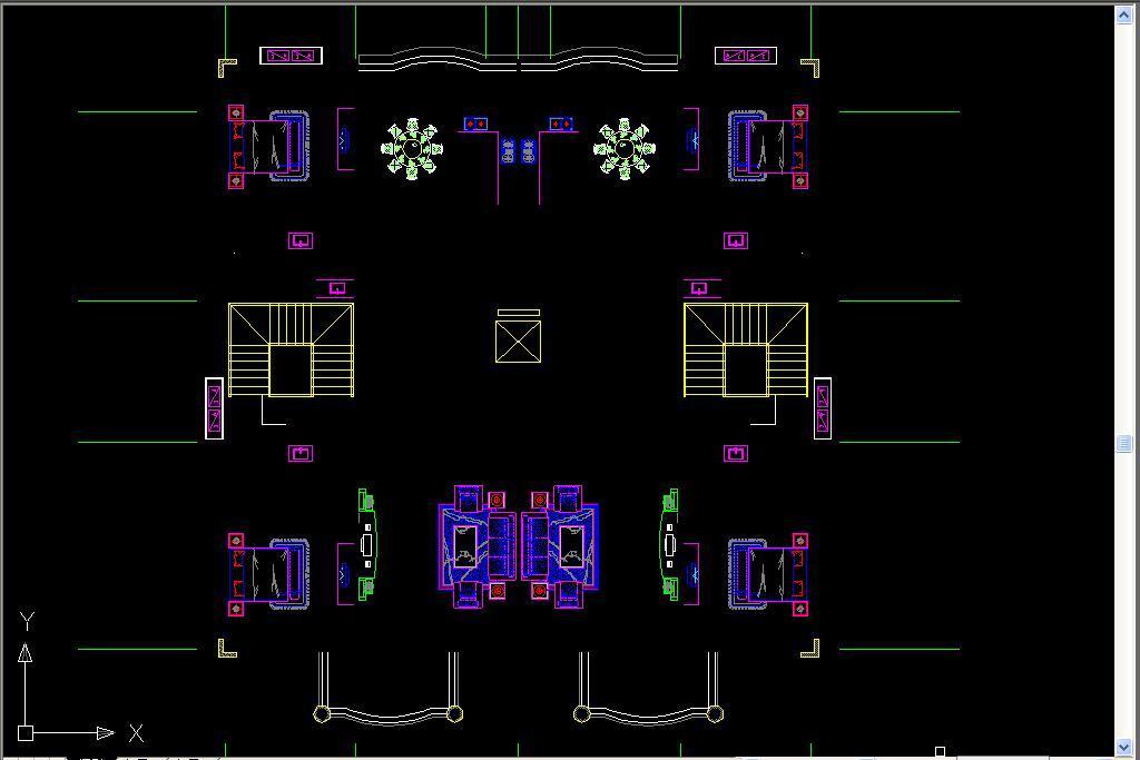 欧式别墅外立面图CAD平面设计图下载 1.53MB CAD图纸大全 室内