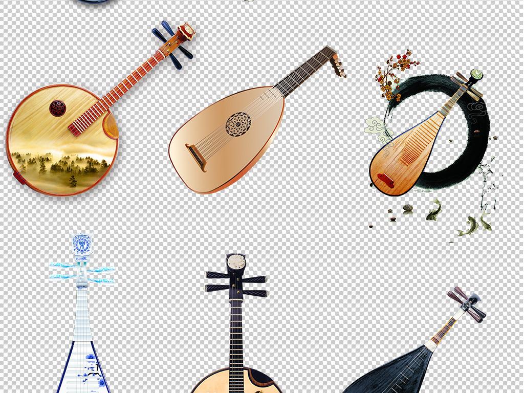 古风琵琶古典琵琶透明免抠png图片素材 模板下载 62.48MB 其他大全