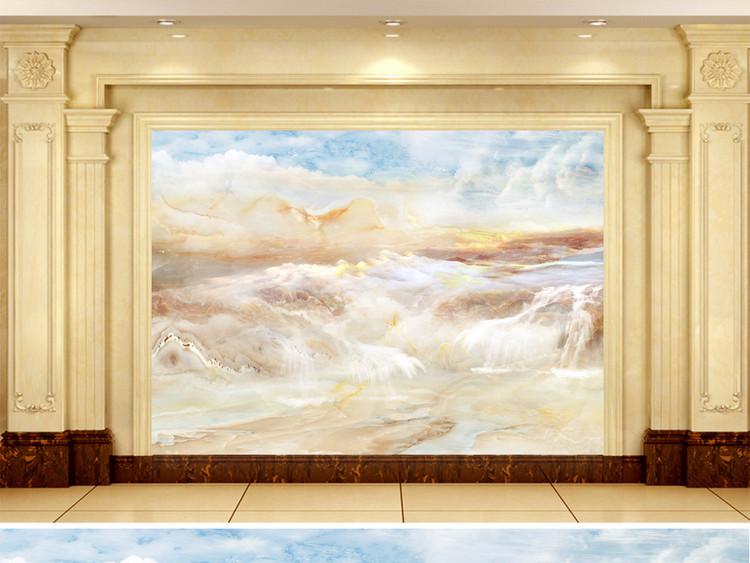 大气山水高清石纹大理石纹背景墙