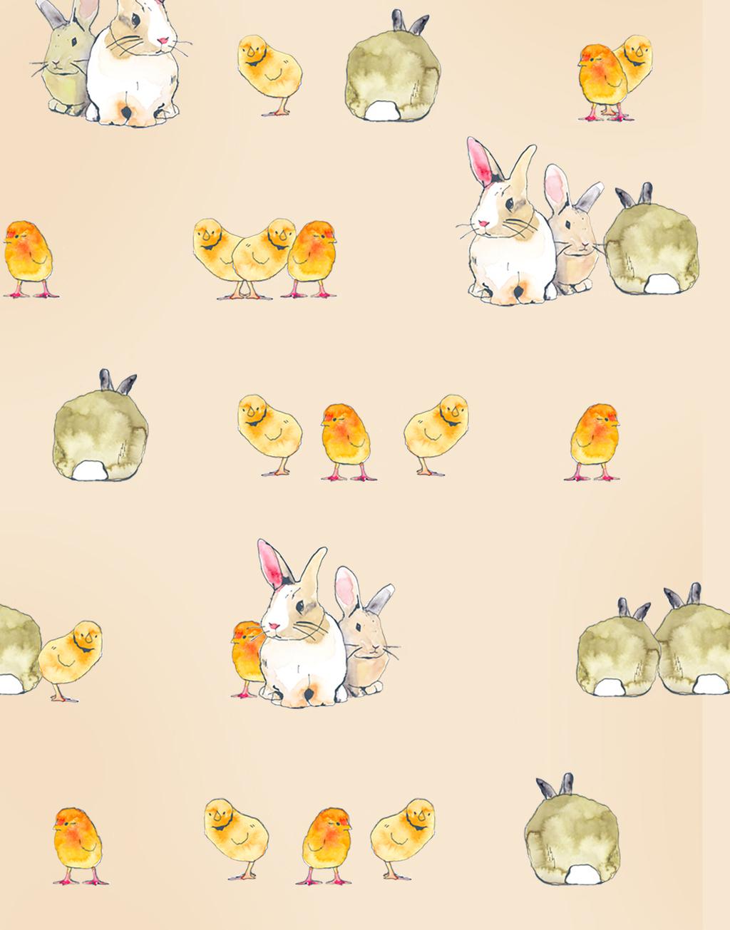 原创设计卡通动物背景图案素材是用户qq23f2c059在