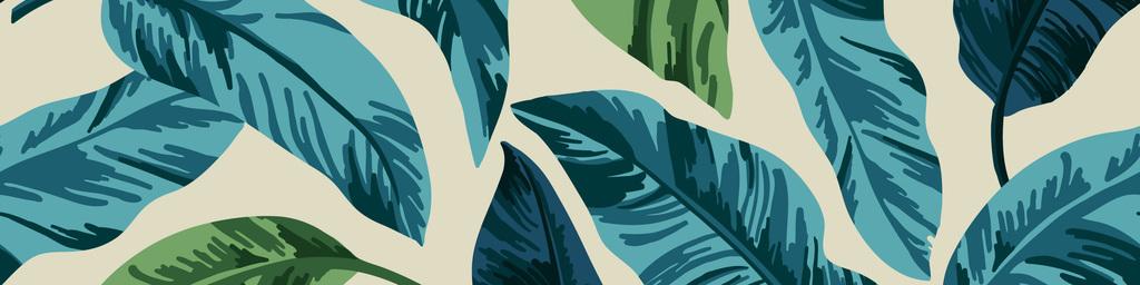 芭蕉叶无缝家纺图案设计图片_高清 矢量图素材下载(mb