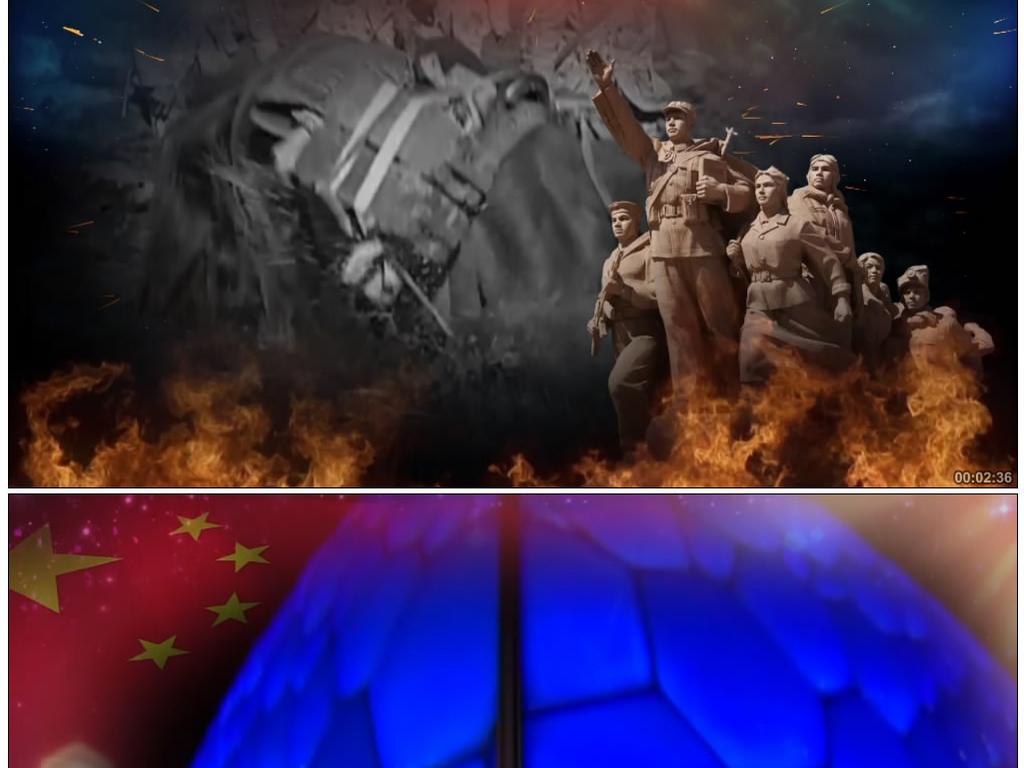 中国梦《不忘初心》谭维维韩磊配乐成品