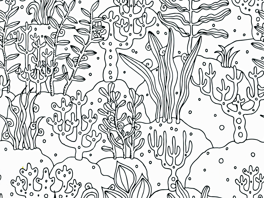 手绘工笔画黑白图案背景图片下载素材-植物花卉图案