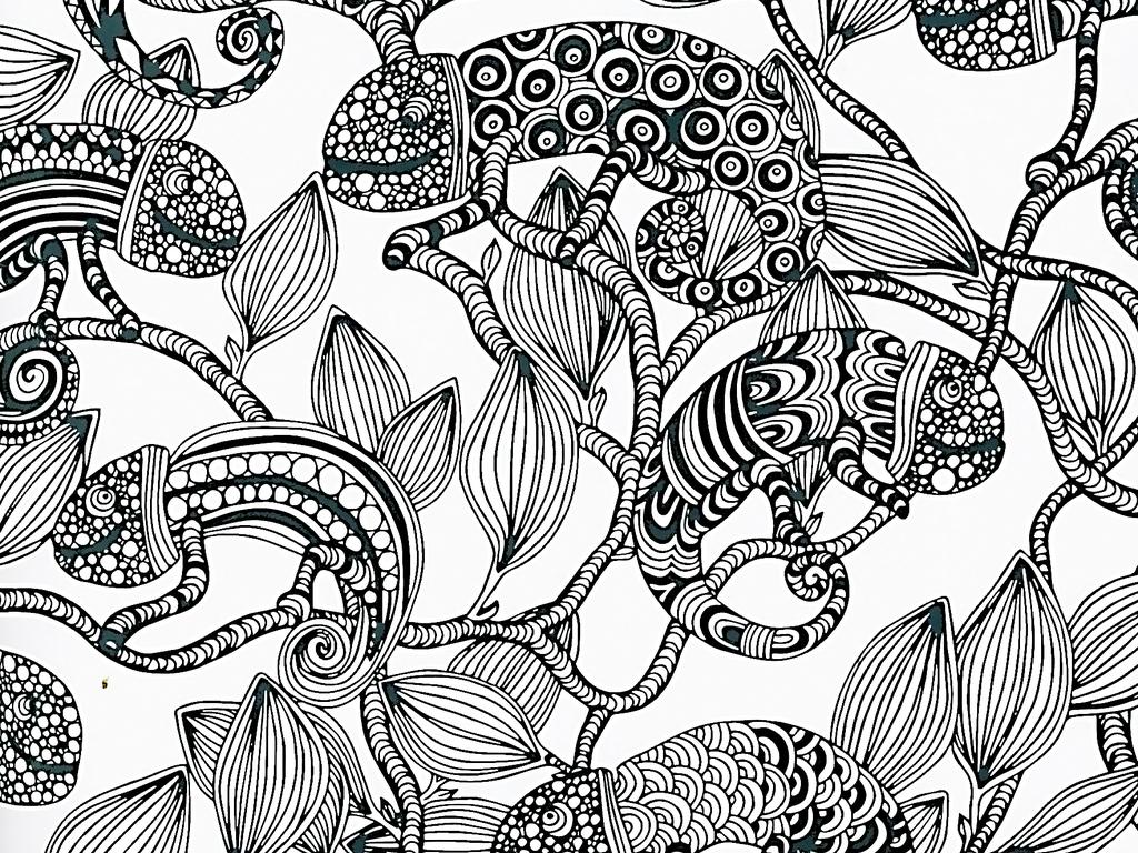 手绘工笔画植物花卉图片下载素材-动物图案-我图网