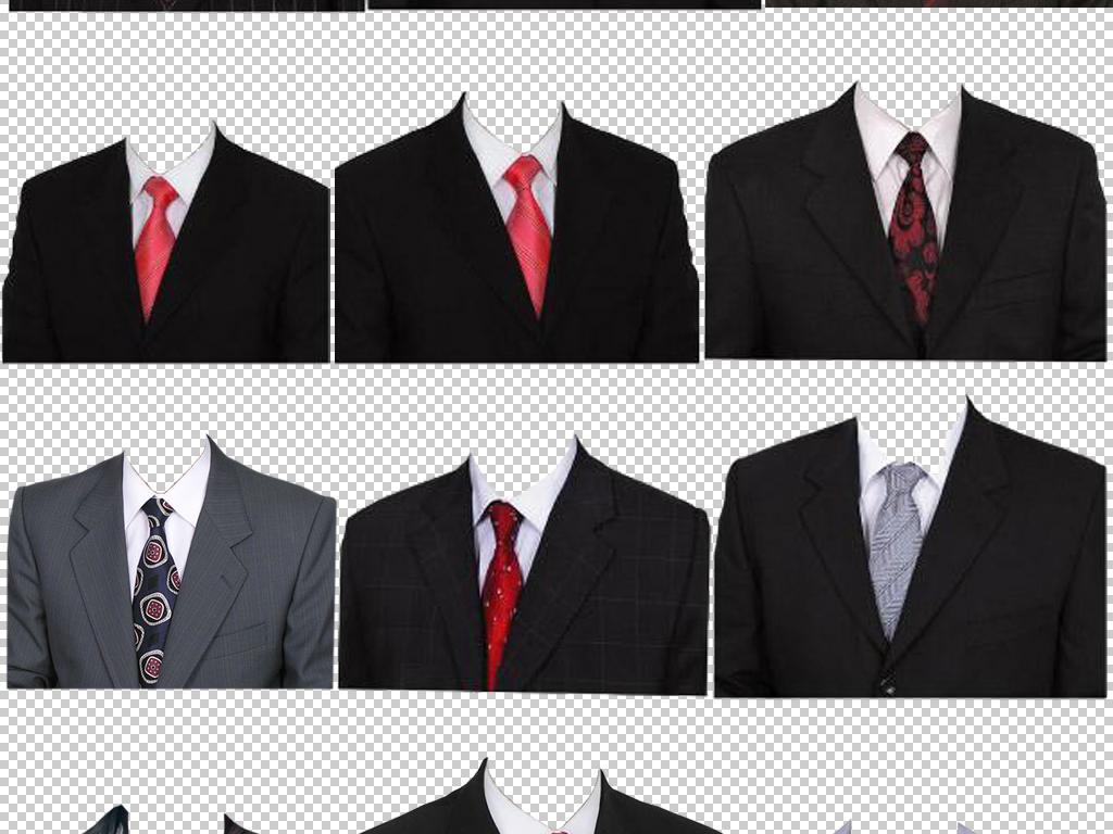 一寸证件照男女各行各业正装人物免扣素材图片下载png素材 商务人士
