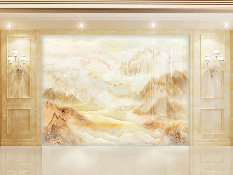 大理石纹山水石纹江山多娇大理石纹背景墙