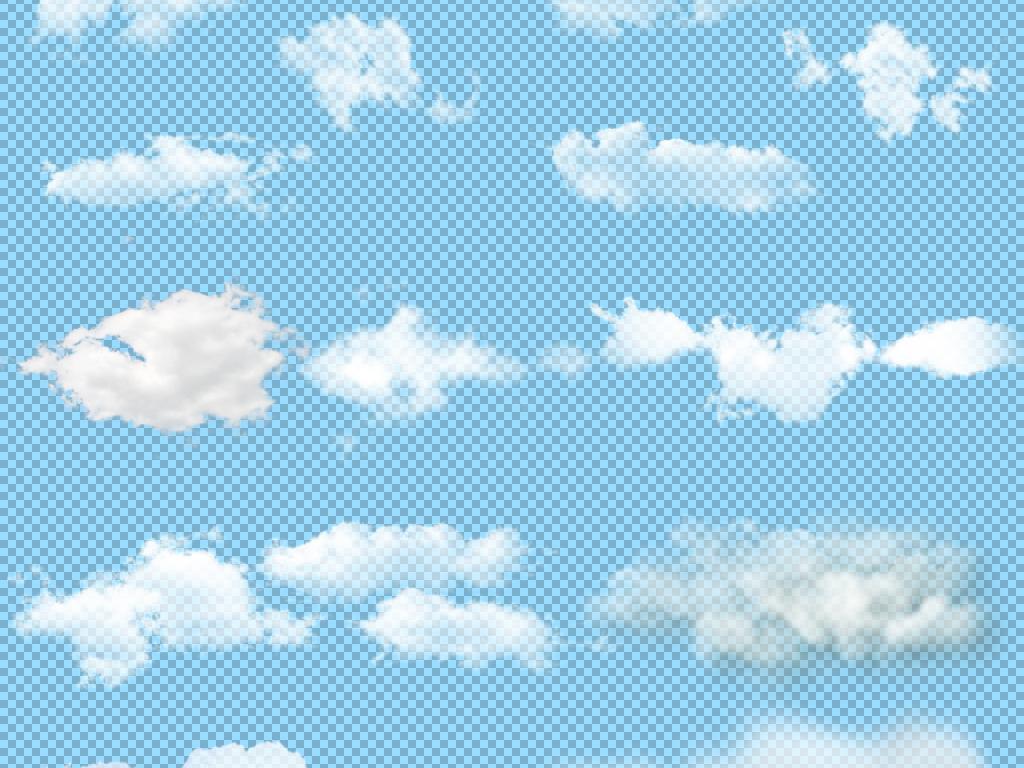 乌云云彩云朵png  素材图片参数: 编号 : 17414132 软件 : photoshop