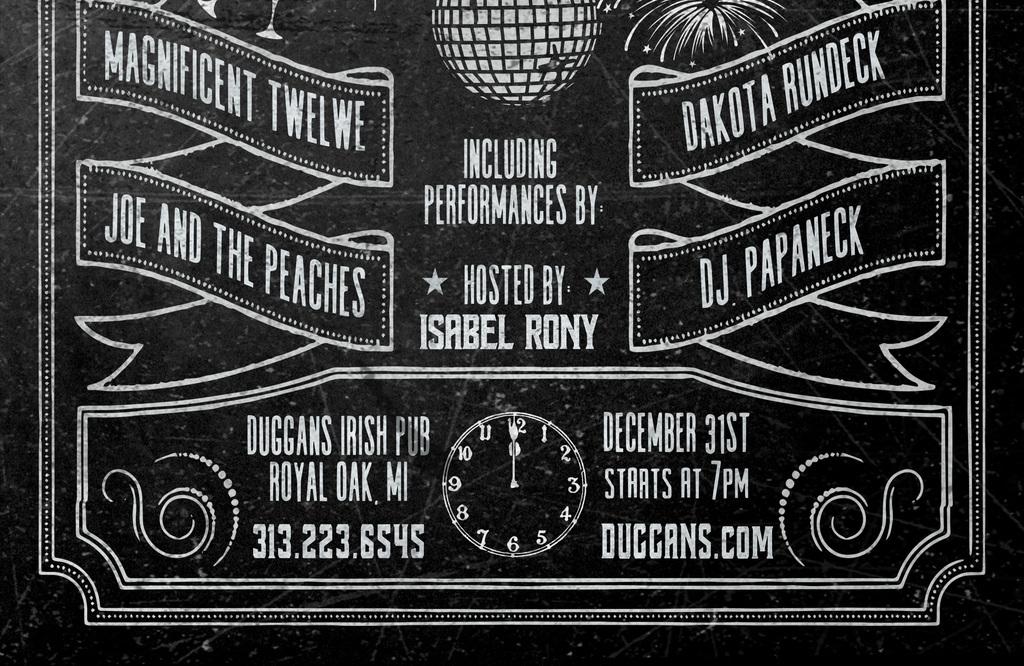黑板粉笔手绘西餐咖啡厅酒吧活动海报ps模板