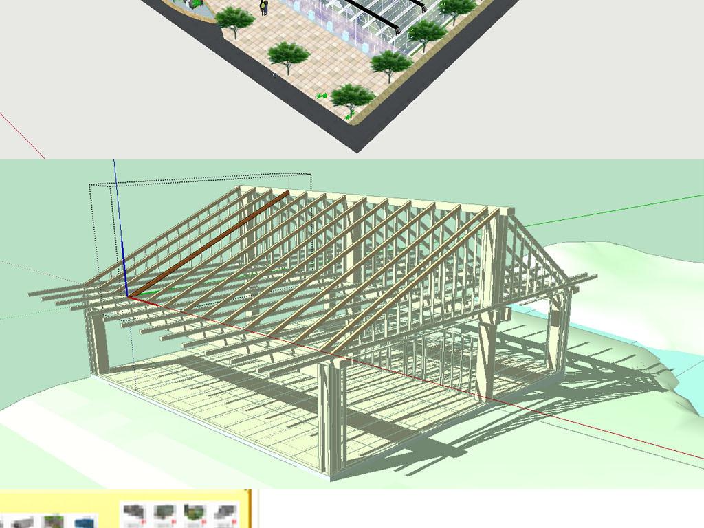 大棚建设有啥好方法吗?设计图第一位、大棚材料、施工,缺一不可