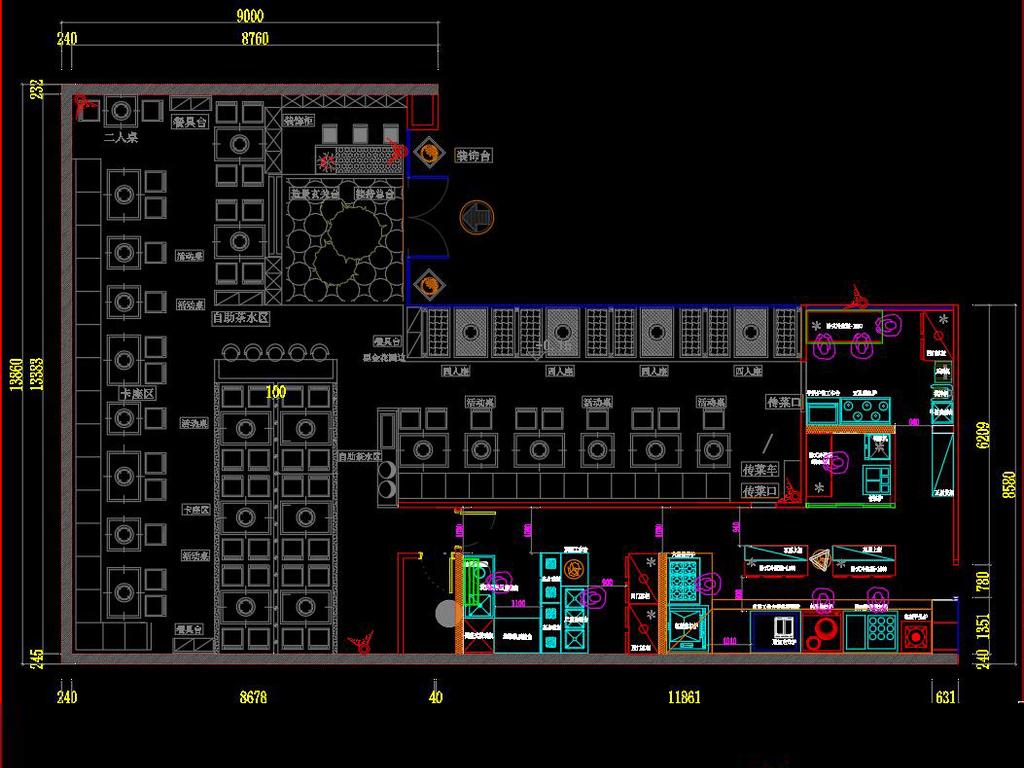 我图网提供独家原创全套时尚火锅店CAD施工图正版素材下载, 此素材为原创版权图片,图片可商用,作品体积为,是设计师QQ6BB3A24E在2018-01-21 23:45:28上传, 素材尺寸/像素为-高清品质图片-分辨率为, 颜色模式为,所属CAD图纸分类,此原创格式素材图片已被下载23次,被收藏99次,作品模板源文件下载后可在本地用软件 AutoCAD 2004(.