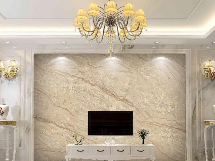 金色线条大理石纹电视沙发背景墙大板