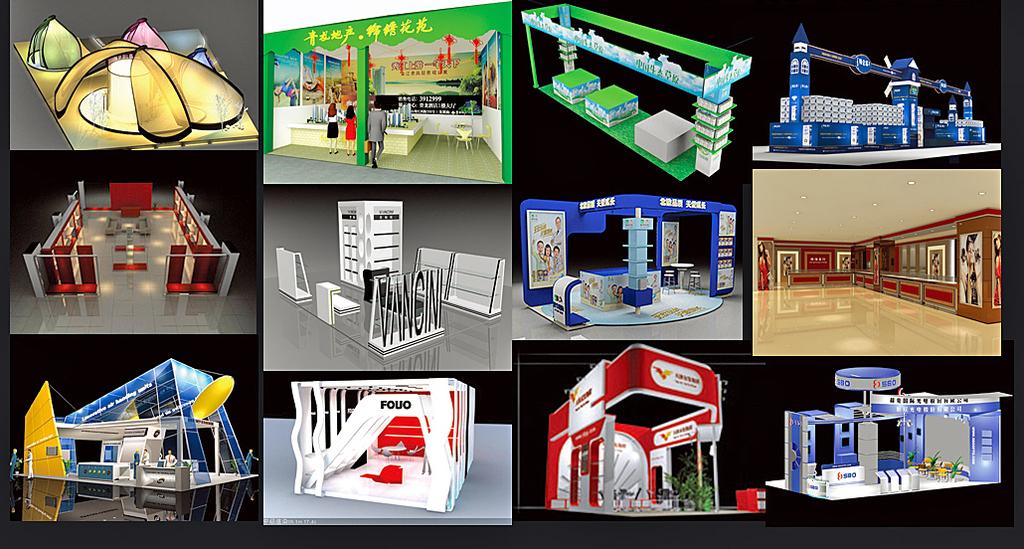 蒙牛店中店3d效果图商场3d模型图片