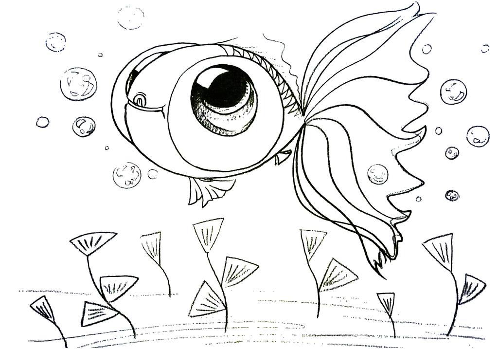 小金鱼儿 17523175 卡通