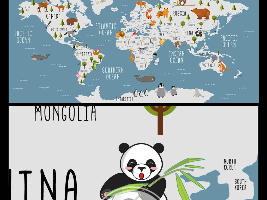 亚洲地图轮廓