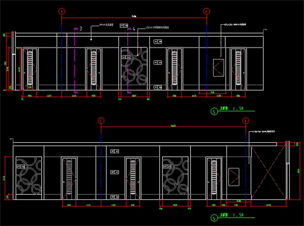 ktv包房装修cad设计图平面图下载(图片0.96mb)_cad_全