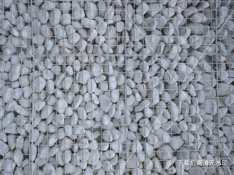 白色鹅卵石文化墙质感背景
