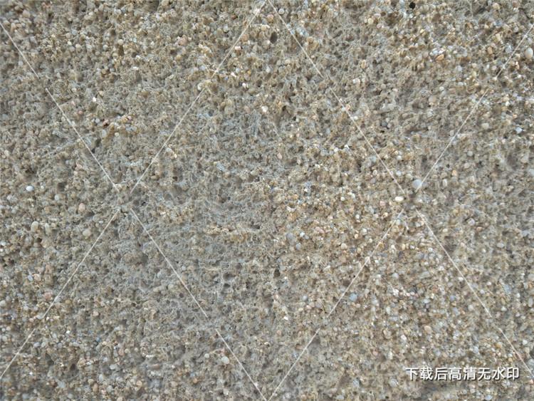 灰色砂砾墙面纹理材质背景