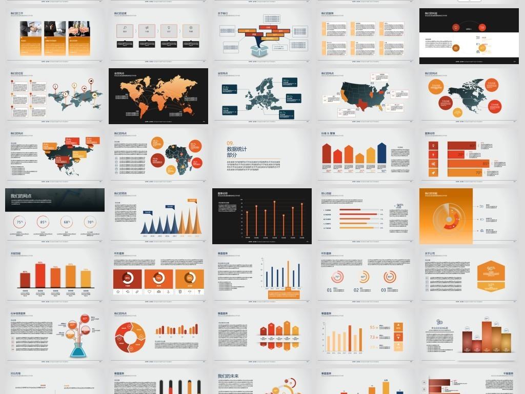 公司简介产品宣传销售ppt模板图片