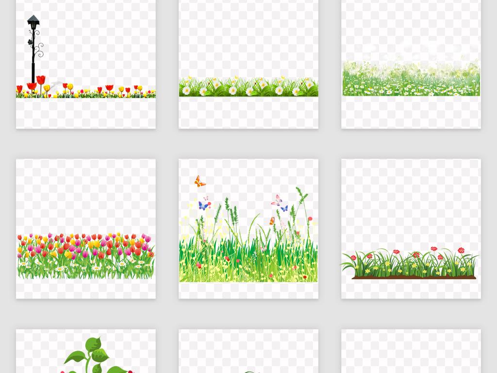 花边边框花坪边框海报边框花边野菊花手绘菊花水墨菊花小菊花小花