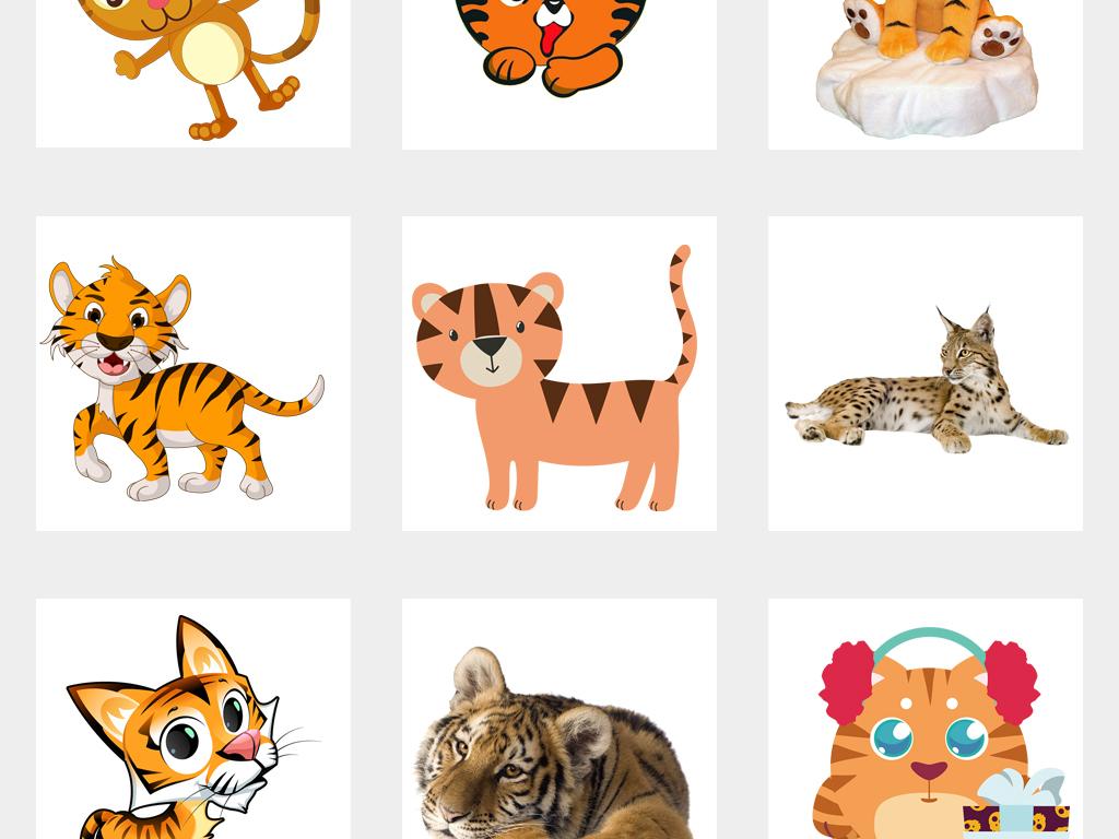 图案设计                                          儿童画手绘动物