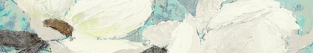 电视背景墙 手绘电视背景墙 > 山茱萸背景墙白色木兰花白色花卉树枝