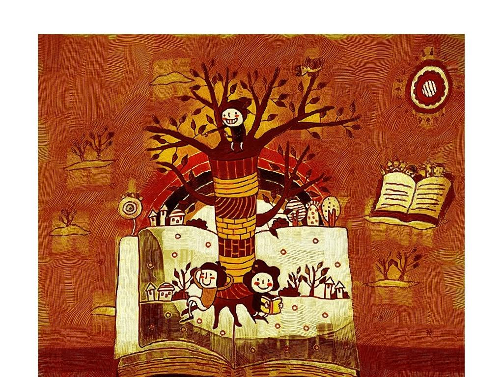 装饰画艺术画手绘美术国画油画图片